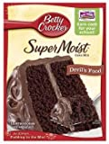 Betty Crocker Devil's Food Cake Mix 15.25 oz (Pack of 12)