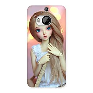 Impressive Doll With Bag Multicolor Back Case Cover for HTC One M9 Plus