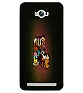 ASUS ZENFONE MAX TEXT Back Cover by PRINTSWAG