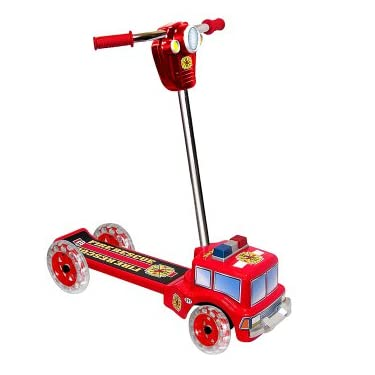 Fire Engine Scooter With Lights And Sounds