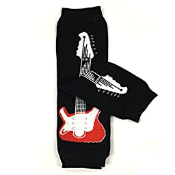 Bowbear Adorable Designs Baby Leg Warmers, Rock Star
