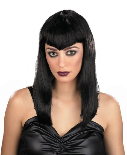 Theatre Costumes Accessory Wigs Gothic Vampire Black Wig One Size