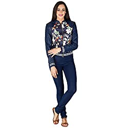 Burdy Full Sleeve Printed Women's Jacket