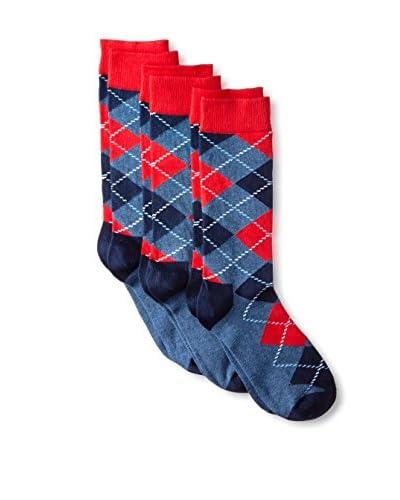 Happy Socks Men's  Pattern Crew Sock – 3 Pack
