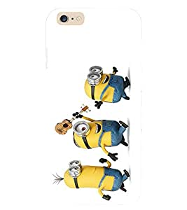 Evaluze funny cartoons Printed Back Cover for APPLE IPHONE 6