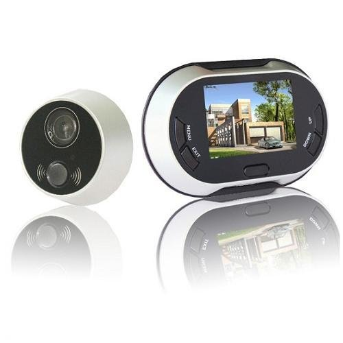 LERWAY 3.5 inch 170 degrees Wide Angle Peephole TFT LCD Digital Door Viewer Doorbell Security Camera Cam