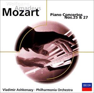モーツァルト:ピアノ協奏曲第25番 ハ長調 K.503/ピアノ協奏曲第27番 変ロ長調 K.595