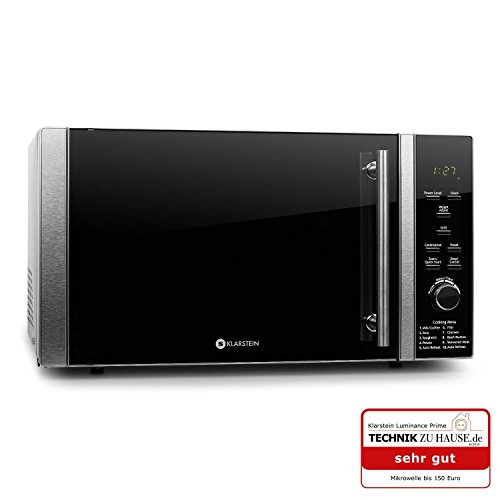 Klarstein Luminance Prime forno a microonde grill 900W 28L
