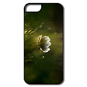 Amazon.com: Cute Wild White Flower Case For IPhone 5/5S ...