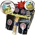 Dogs Greyhound - Brindle Greyhound - Coffee Gift Baskets - Coffee Gift Basket from 3dRose LLC