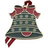Wallace 2013 4th Edition Gold-Plated Enameled Bell Ornament
