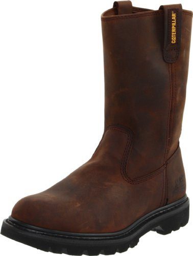Caterpillar Men's Revolver Pull-On Soft Toe Boot,Wellington