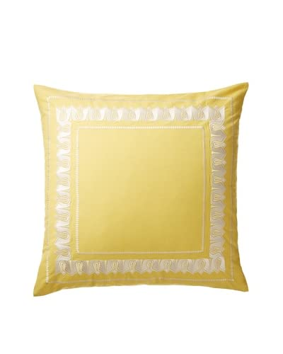 Echo Jaipur Euro Sham, Yellow