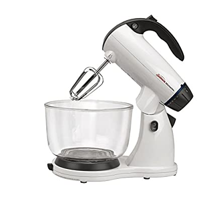 New Sunbeam FPSBSMGLW Mixmaster Stand Mixer, White
