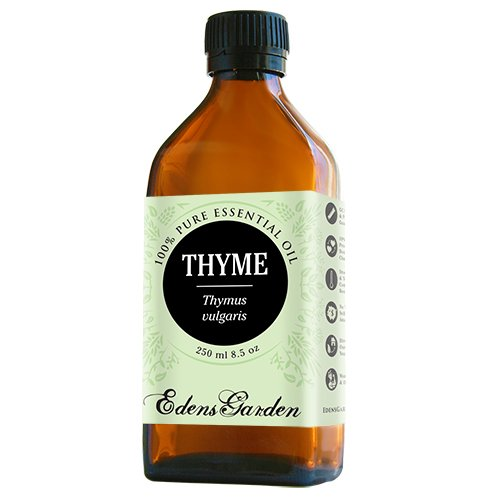 Thyme 100% Pure Therapeutic Grade Essential Oil by Edens Garden- 250 ml
