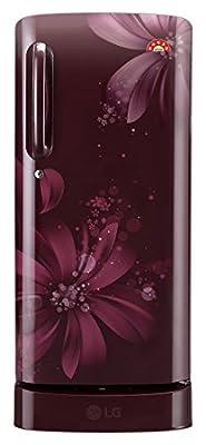 LG GL-D221ASAI.DSAZEBN Direct-cool Single-door Refrigerator (215 Ltrs, 5 Star Rating, Scarlet Aster)