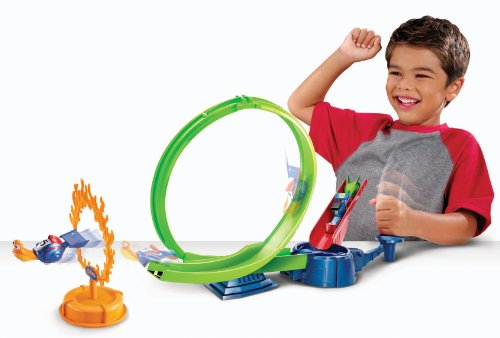 Dreamworks Turbo Ring of Fire Playset - 1