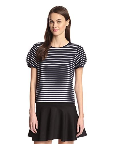 French Connection Women's Fast Suki Stripe Crop Top