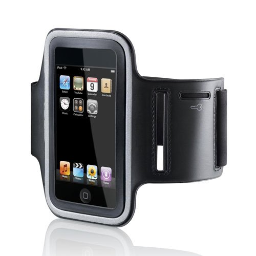 Izumi Technology Sports Armband For Iphone With Key Holder For Iphone 5, 5S, 5C, 4, 4S, Ipod Touch 5 (Black)