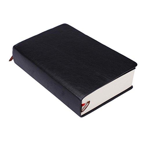 EKIMI Notebooks Classic Retro Notebook Journal Diary Sketchbook (white)