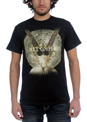 Goatwhore di Haunting-Curse-Maglietta da uomo, colore: nero nero