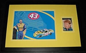 Autographed Bobby Labonte Photo - Framed 11x17 Poster Display - Autographed NASCAR... by Sports Memorabilia