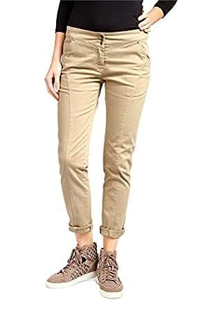 Aeronautica Militare Pants, Color: Light Brown, Size: 36