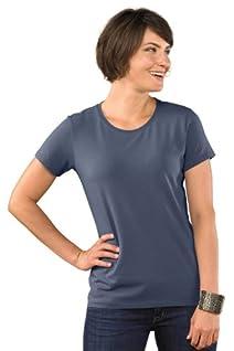 Fair Indigo Relaxed Crew Neck Organic Fair Trade T-shirt