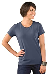Fair Indigo Relaxed Crew Neck Organic Fair Trade T-shirt