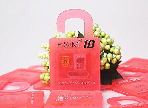 R-SIM 10 iPhone6/6Plus/5S/5C/5/4S sim ロック解除アダプタ iOS 8 対応 SIM Unlock アンロック SIMフリー 解除アダプター