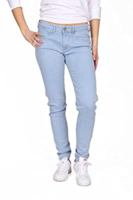 Fred Perry ladies stretch jeggings trousers 31542021 V0031