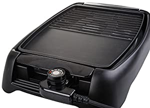 Beida Electric Grill/Griddle with Dual non-stick coating pan
