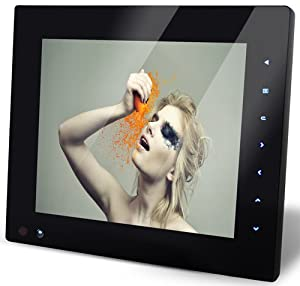 """NIX Pro Series 8"""" Digital Frame with Motion Detection Sensor and Rechargeable Battery"""