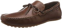 Red Tape Mens Leather Boat shoe B01GK2Q43I