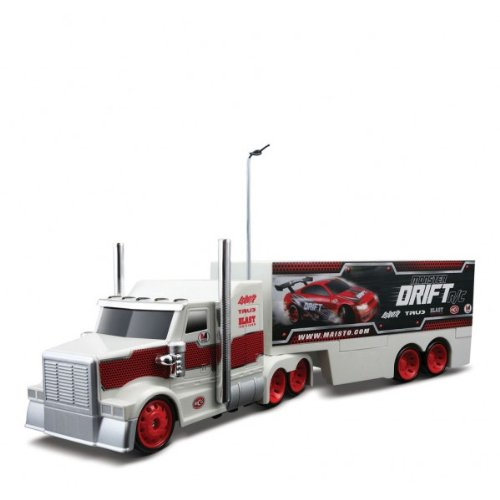 Monster Drift R/C Racing Rigs White Truck Radio Control RTR