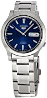 "Seiko Men's SNK793 ""Seiko 5"" Stainless Steel Blue Dial Automatic Watch from Seiko"