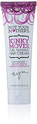 Not Your Mother's Kinky Moves Curl Defining Hair Cream, 4 Ounce