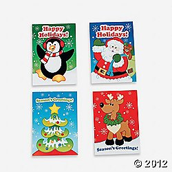 "36 MINI HOLIDAY FUN and GAMES Activity BOOKS/Stocking STUFFERS/PARTY FAVORS/TEACHERS/Daycare/2 1/2"" x 3 1/2"""