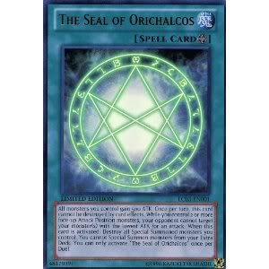 Toy / Game Ultra Rare Yu-Gi-Oh! - The Seal of Orichalcos (LC03-EN001) - Legendary Collection 3: Yugi's World (Seal Of Orichalcos Deck compare prices)