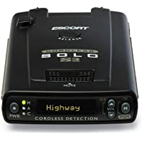 Escort Solo S3 Cordless Radar Detector (Black)