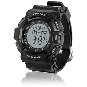 Genuine Brand Spovan Electronic Sports Watches for Men and Women with Multifunction Chronograph Alitimater Alarm Unisex Clock blade IIII