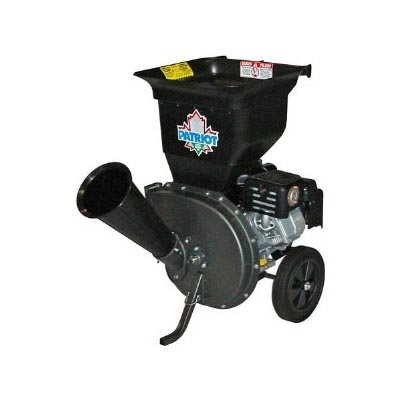 Review Of Patriot Products CSV-3100B 10 HP Briggs & Stratton Gas-Powered Wood Chipper/Leaf Shredder