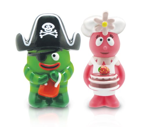 YO GABBA GABBA - 2- Collectible Figures: Brobee and Foofa (2-Pack)