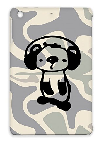 Drop Resistant Animals Koala Graphic Illustration Wild Animal Animals Nature Art Oceania Vector Unique Headphones Animation Autratlia Aus Oceania Music Wildlife Cute Animation Tpu Case For Ipad Mini Black Koala With