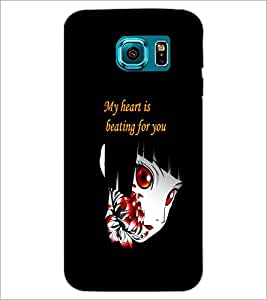 PrintDhaba Quote D-5366 Back Case Cover for SAMSUNG GALAXY S6 (Multi-Coloured)