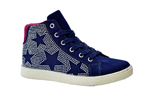 Lulu' bambino Sneakers scarpe bambina blu SKY 31