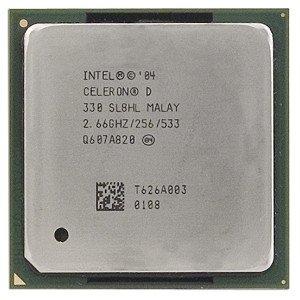Intel Celeron D 330 2.66Ghz 533Mhz 256Kb Socket 478 Cpu