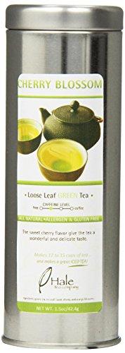 Hale Tea Green Tea, Cherry Blossom, 1.5-Ounce