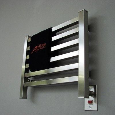 Quadro Wall Mount Electric Dual Purpose Radiator Finish: Polished