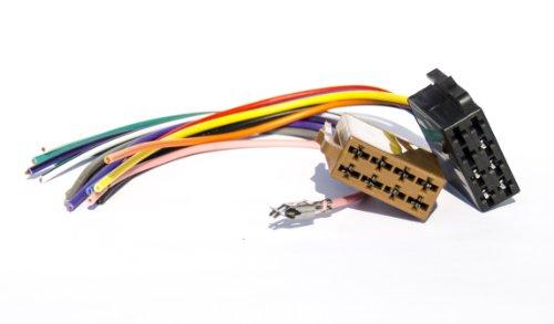 AUTORADIO-ANSCHLUSSKABEL-ANSCHLUSS-KABEL-ISO-DIN-STECKER-ISO-002W9